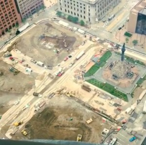 Public Square construction