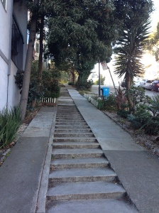 SF hill with steps