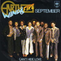 """September"" by Earth, Wind & Fire"