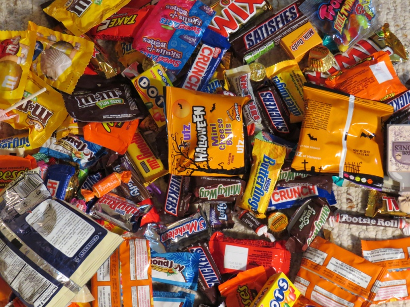 Top 5 Halloween Candies I'm Going To Eat After The Race ThisSaturday